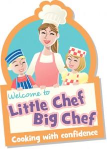 little chef big chef illustrated logo